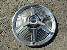 One factory 1965 Ford Mustang 14 inch spinner hubcap wheel cover
