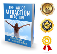 The Law Of Attraction In Action- eBook pdf - With Resell Rights - Delivery 12 hr