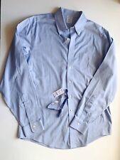 NWT Brooks Brothers Light Blue Classic Button Down Dress Shirt 16 - 36
