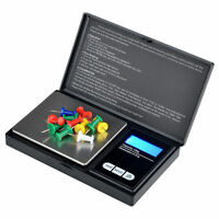Mini Digital Electronic Pocket Gold Jewelry Weighing Scale 0.01G -200G UK Stock