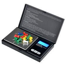 MINI DIGITALE ELETTRONICO TASCABILE ORO GIOIELLI pesatura Scala 0.01 g -200 g UK STOCK