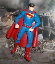 DC DIRECT COLLECTIBLES NEW 52 JUSTICE LEAGUE BLUE SUIT SUPERMAN FIGURE