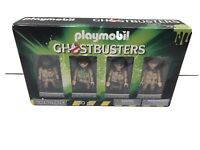 Playmobil Ghostbusters Set 70175 4 Mini Action Figures Team Collector's Set New