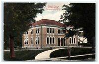 Postcard Otsego County Clerks Office, Cooperstown NY C2