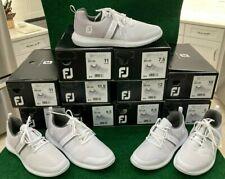 NEW!!  FootJoy Flex White Mens Golf Shoe - 56120 - Multiple Sizes
