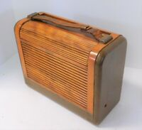 Vintage 1946 Portable Radio Philco Model 46-350 Code 121 Excellent Radio.