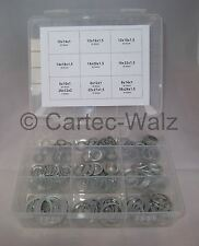 Aluminiumringe Dichtringe Dichtung Aludichtring Sortiment 206 TEILIG