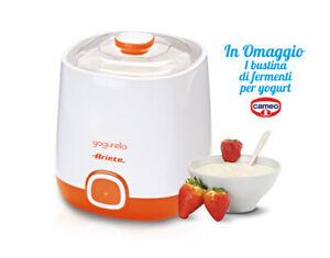 ARIETE CAMEO Macchina Yogurt Classico Greco Yogurtiera Yogurella 2 cestelli