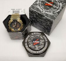 Casio G-Shock Black Dial Resin Quartz Men's Wrist Watch - GA100MM-5A