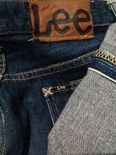 Vintage LEE union made sanforized half selvedge jeans size 28