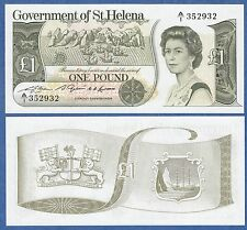 Saint Helena 1 Pound P 9 ND (1981) UNC Low Shipping! Combine FREE! St. Helena