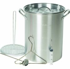 Deep Fry Pot For Frying Outdoor Cooking System 30 QT Turkey With Accessories