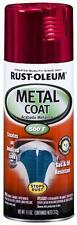 Rust-Oleum 251583 Automotive Metal Coat Spray Paint for Car and Bike - Red
