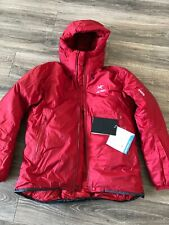 New Arcteryx Firebee AR Parka Goretex Down Filled Mens Large Red