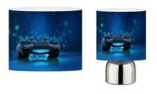 PLAYSTATION b PS4 LIGHT SHADE & TOUCH LAMP SET KIDS ROOM