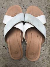 UGG Kari Pantofole Sandali in Pelle Misura UK 5.5 ERU 39