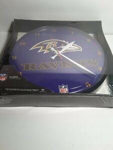 NFL BALTIMORE RAVENS Wall Clock New
