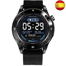 JINPX Smartwatch Reloj Inteligente para Hombre Mujer Niños con Monitor  (Negro)