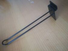 Black Double Euro Pin Board. Hairpin reatail display hook Pinboard