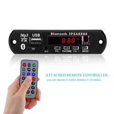 5V/ 7-12V Car Bluetooth Wireless MP3 Decoder Board Audio Module AUX USB TF Radio