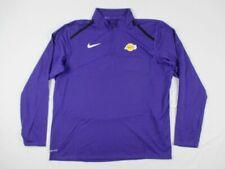NEW Nike Los Angeles Lakers - Men's Purple Dri-Fit Pullover (2XL)