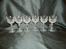 SCHOTT-ZWIESEL LEAD CRYSTAL DESIREE 6 SHERRY GLASSES 100mls