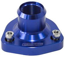 Aeroflow Nissan RB20/RB25/RB26/RB30 Billet Thermostat Housing (Blue) - AF64-4029