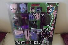 Mattel Monster High Create A Monster Vampire & Sea Monster Doll