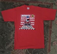 Formula 1 Monaco Grand Prix Shirt / Red (L)