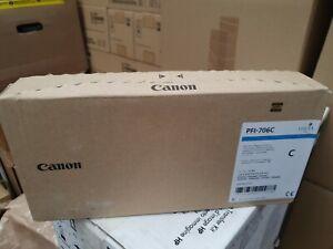Tinte Canon  PFI-706C Cyan Neu OVP  IPF 8300 IPF 8400 A-Ware Rg Mwst 08.2021