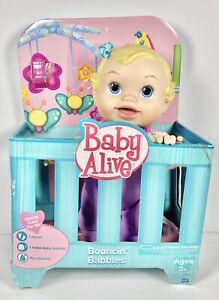 NIB Baby Alive Bouncin' Babbles - Blonde Hasbro 2009