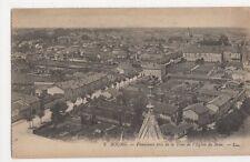 France, Bourg, Panorama pris de la Tour de l'Eglise de Brou LL 2 Postcard, B356