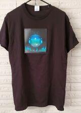 Sound Activated Light Up Flashing Shirt Rock Disco Music LED Tee Size Medium
