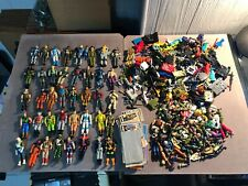 GI Joe Vintage 1982-1993 40+ Figure Lot w/ Tons of Weapons/Accessories/Body Part