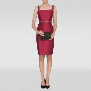 L.K. Bennett Mulberry Kent Dress, BNWT Size 14, New with Tags