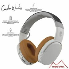 Skullcandy Crusher Bluetooth Wireless Over-Ear Headphone & Microphone - Grey/Tan