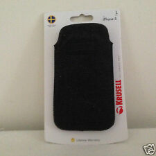 Krusell Uppsala Mobile Pouch Smartphone Cover 95399 geeignet für iPhone 5