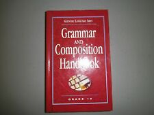 Glencoe Language Arts, Gr 10, Grammar & Composition Handbook 2002, 0078251176