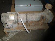 "Vertiflo 1420 Sz 2X11/2X8 7"" Dia 62 Gpm Horizontal Pump W/ M3587T 1740 Rpm Motor"