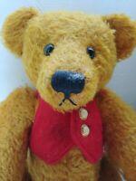 """Vintage Teddy Bear Knickerbocker Toy Co. """"Dawson"""" Mohair"""