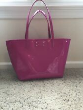 NEW Kate Spade Hot Pink Sapphire Harmony Metro Hearts Tote Bag Baby Carry On Gym