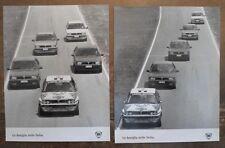 LANCIA DELTA orig 1980s Press Photos x2 - Martini Brochure Related - Ref 4
