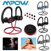 Mpow Wireless Bluetooth Headset Headphones Sport Sweatproof Stereo Earbuds Gym