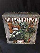 Bowen Designs ABOMINATION BUST Sculpted by Randy Bowen #485/2000 New in Box Hulk