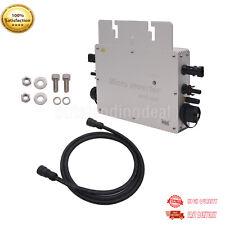 600W MPPT Solar Grid Tie Micro Inverter W/ Wireless IP65 Pure Sine Wave Inverter