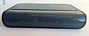 Belkin Wireless G Modem Router F5D7634-4A-H V2, 4 Port ADSL2+, WPA2