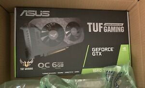New ASUS TUF Gaming GeForce GTX 1660 SUPER OC 6GB Graphics Card Free Shipping