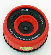 USD - Holga lens HL-N1 RED for Nikon 1 Series Digital Cameras