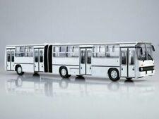 Bus miniatures blancs 1:43