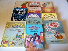 14 Book Lot Vintage Weekly Reader Children's Hardcover AR Kids Reading Education